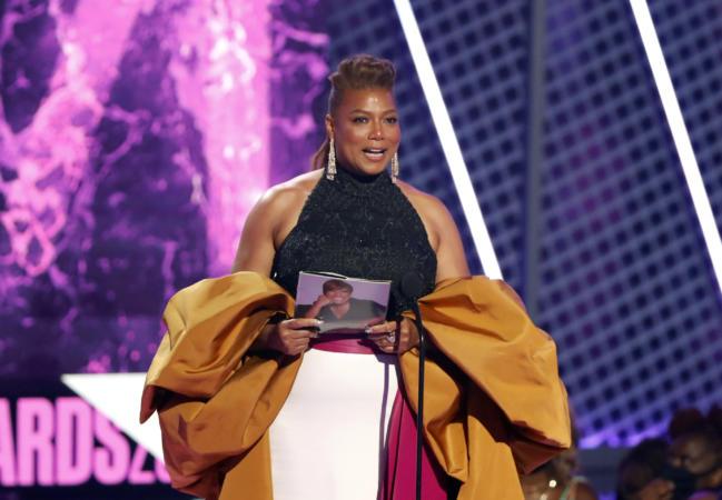 Queen Latifah Shouts Out Pride Month, Gives Powerful BET Awards Lifetime Achievement Speech